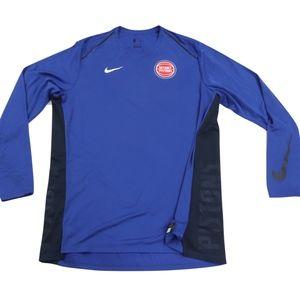 Nike NBA Authentic Detroit Pistons Shirt Mens 2XL